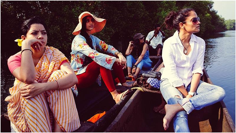 Die sieben Freundinnen erkunden gemeinsam die Schönheit Goas. © Jungle Book Entertainment Swapnil Sonawane