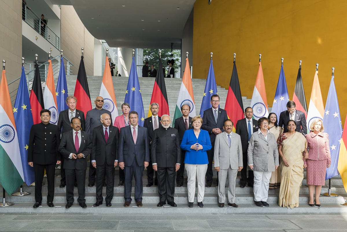 Von deutscher Seite bringen sich das Auswärtige Amt, das Wirtschafts-, Bildungs-, Umwelt- und das Entwicklungsministerium zu den vereinbarten Themen ein. Foto: Bundesregierung/Kugler