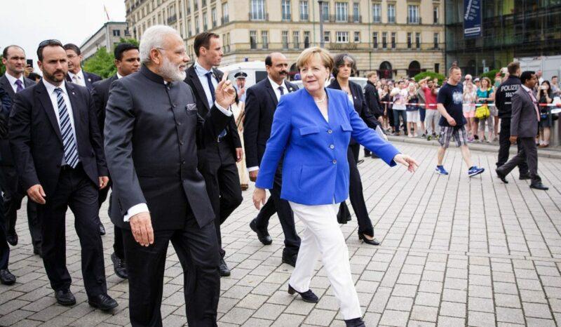Die strategische Partnerschaft beider Länder sei durch die Konsultationen noch einmal vertieft worden, hebt Kanzlerin Merkel im Anschluss an die 4. Deutsch-Indischen Regierungskonsultationen hervor. Foto: Bundesregierung/Steins