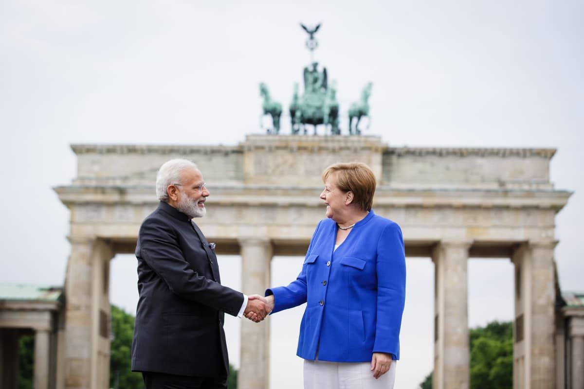 Modi erklärt, die Beziehungen zwischen Deutschland und Indien seien nicht nur von bilateraler, sondern von internationaler Bedeutung. Foto: Bundesregierung/Steins