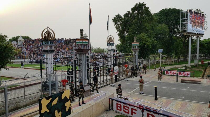 Wagah Border - Grenzübergang Indien und Pakistan