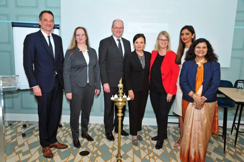 NRW INDIA BUSINESS FORUM eröffnet in Düsseldorf