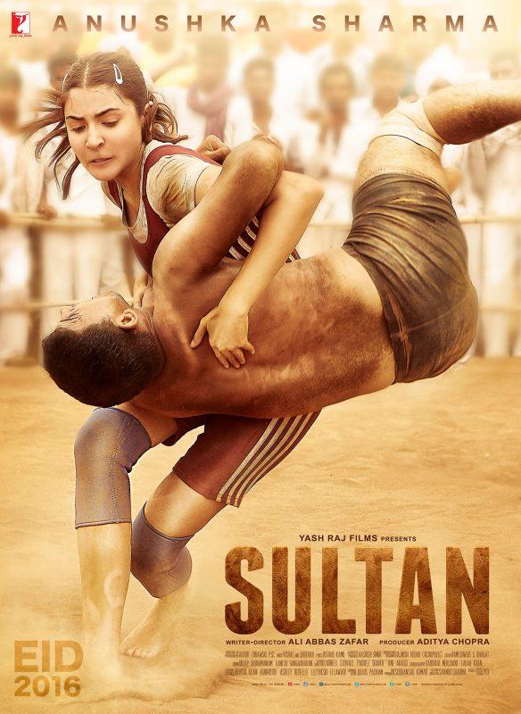 Sultan mit Salman Khan und Anushka Sharma