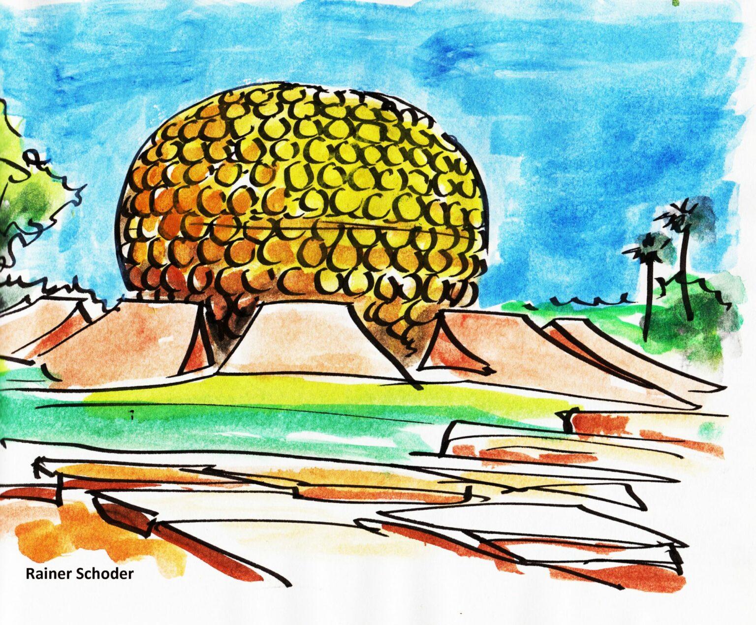 Auroville Matrimandir, Rainer Schoder