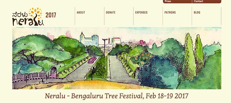 Neralu Tree Festival in Bengaluru