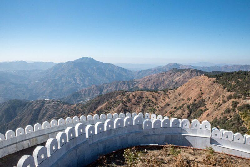 Der Kali-Tempel ist nicht nur schön anzusehen, auch die Aussicht ist beeindruckend