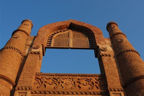Badal Mahal in Chanderi. © Foto: Chanderi Tourism