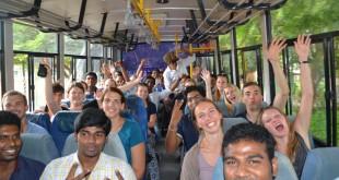 Die deutsch-indische Gruppe auf Entdeckungsreise, Foto: BayInd