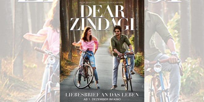 "Filmplakat ""Dear Zindagi - Liebesbrief an das Leben"" (UCI Kinowelt)"