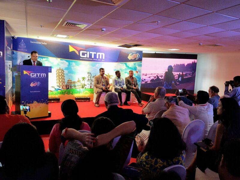 Goa International Travel Mart (GITM) 2019 Pressekonferenz