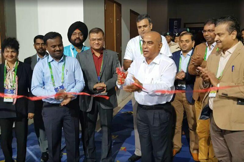"""Mit einem """"Ribbon Cutting"""" von Dr. Pramod Sawant wurde der Goa International Travel Mart 2019 eröffnet"""