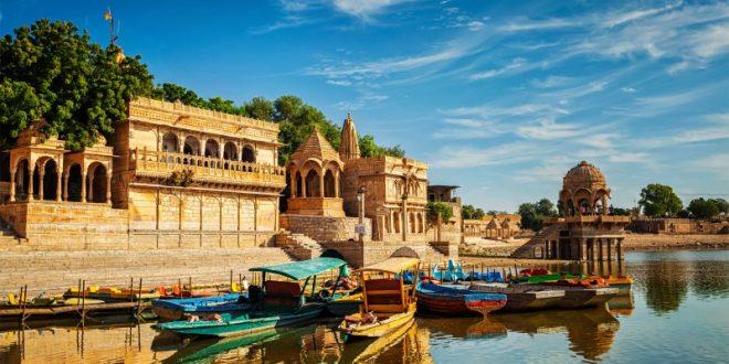 Gadi Sagar - künstlicher See Jaisalmer, Rajasthan, Indien