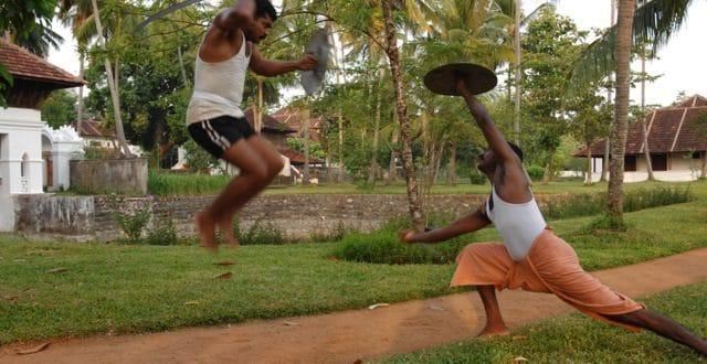 Kalaripayattu ähnelt mit seinen fließenden Bewegungen, Drehungen und hohen Sprüngen einem Tanz. Fortgeschrittene verwenden Waffen wie Schwerter und Schilder. Die Marma-Massagen aus der Kalari-Heilkunst wurden unter anderem entwickelt, um das Gewebe der Kalaripayattu-Kämpfer geschmeidig zu halten.
