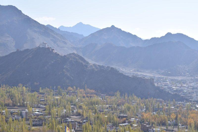 Leh im neu geschaffenen indischen Union Territory Ladakh. Höhe ca. 3500m