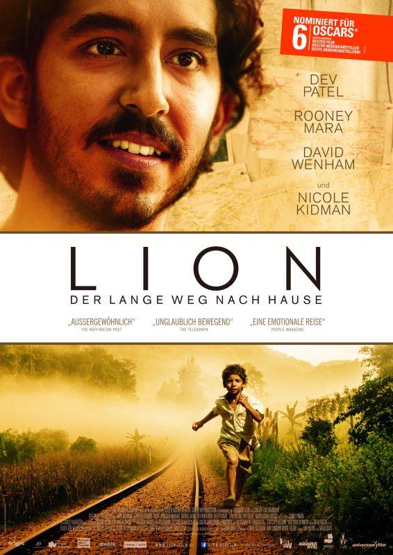 LION Filmplakat