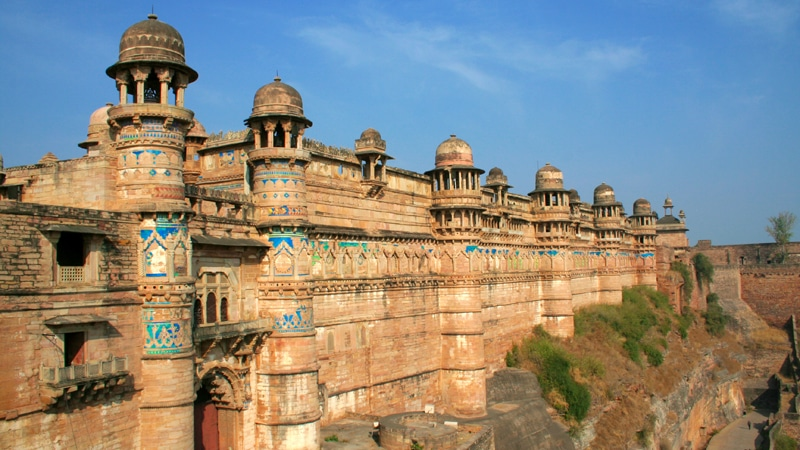 Das Fort in Gwalior. © MP Tourism