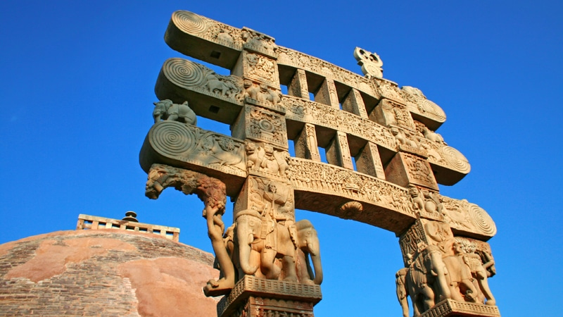 Sanchi. Foto: MP Tourism