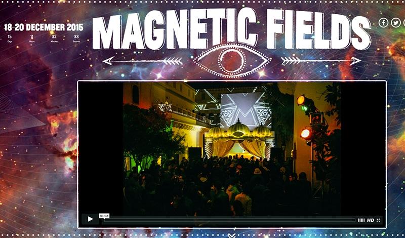Magnetic Fields (Bildschirmfoto der Webseite)