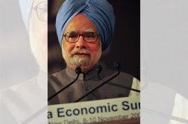 Premierminister Manmohan Singh beim World Economic Forum 2009. Foto: WEF