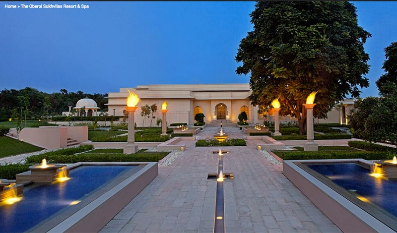 Oberoi Sukhvilas in Chandigarh