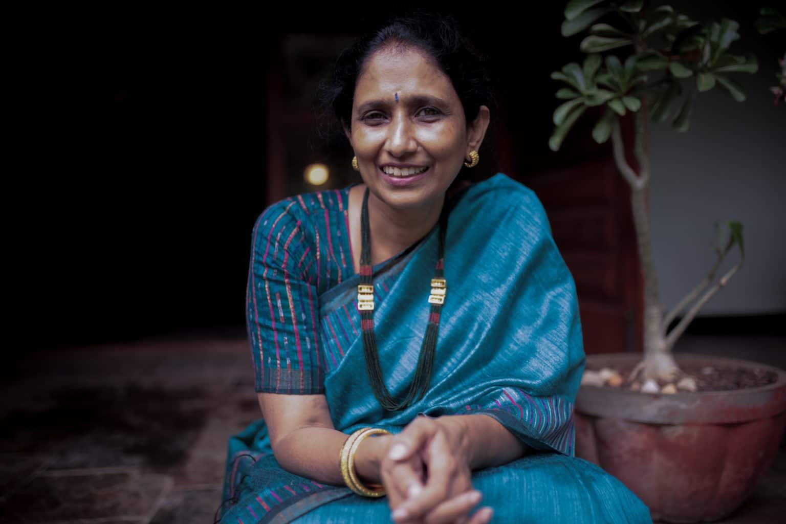 Frauenaktivistin Prasanna Gettu aus Chennai