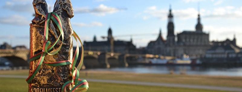 Der Goldene Reiter ist der Preis des Filmfestes Dresden.