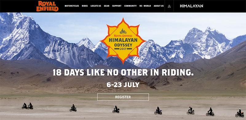 Royal Enfield Himalayan Tour - eines der besten Events für Motorrad-Freaks