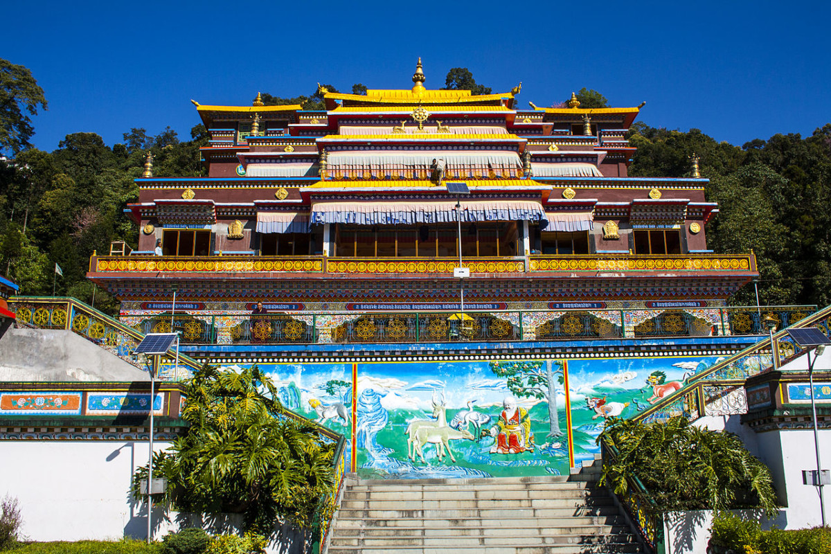 Rumtek Kloster, Foto: Indrajitdas
