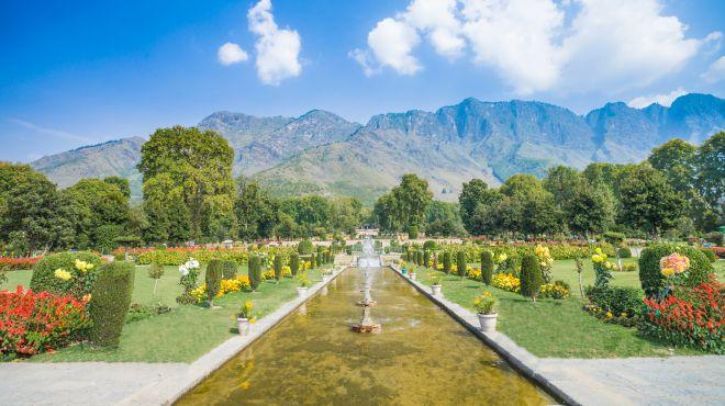 """Shalimar Bagh, der """"Garten der Liebe"""""""