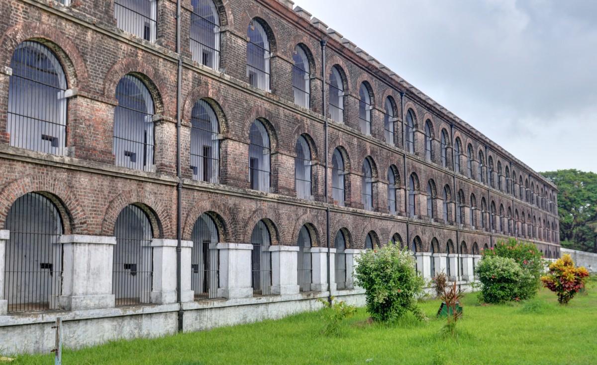 Seitenansicht vom Gefängnis von Port Blair, Foto: Mukul Banerjee