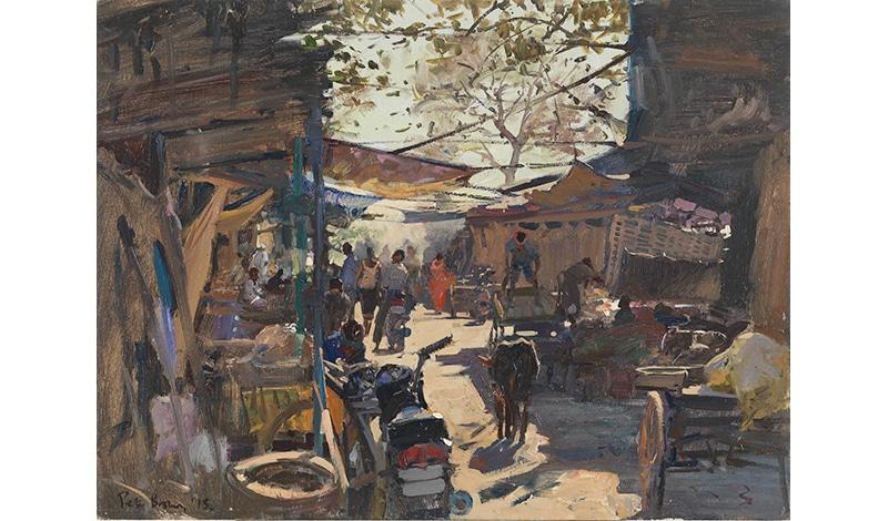 Peter Brown, Street Scene