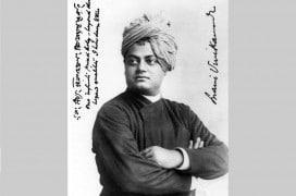 Swami Vivekananda im Jahr 1893