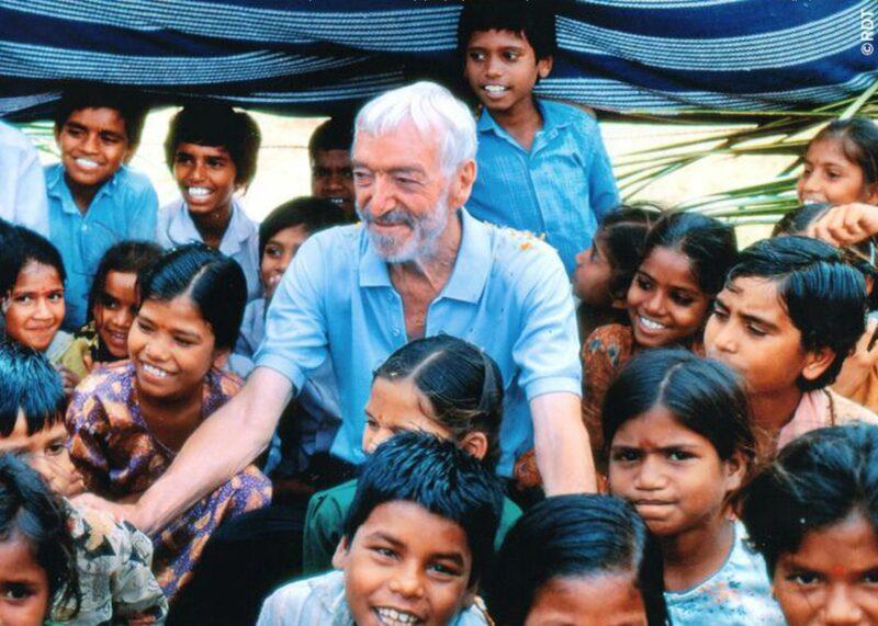 Vicenter Ferrer Gründer der Stiftung, Foto: RDT Indien