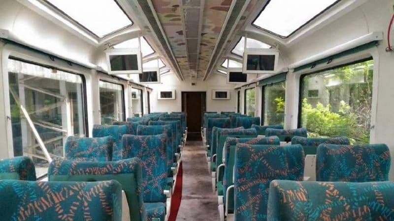 Vistadome-Waggon von Indian Railways
