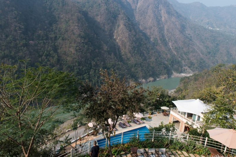Das Atali Ganga bei Rishikesh