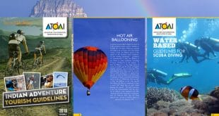 "Broschüre ""Guidelines for Adventure Tourism"" in Indien"