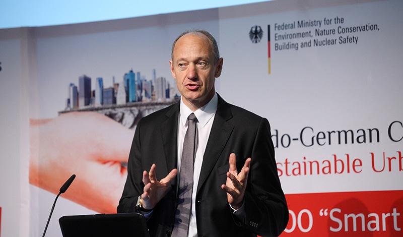 Dr. Roland Busch, Mitglied der Geschäftsführung der Siemens AG. Foto: Sera Cakal