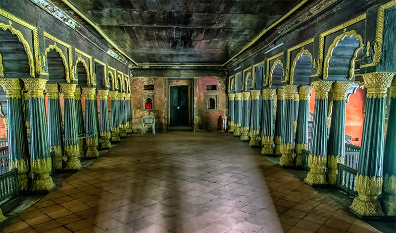Tipu Sultan Palast in Bengaluru. Foto: John Hoey