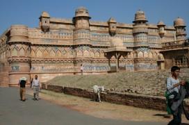 Die Festung von Gwalior. Foto: Traudl Kupfer