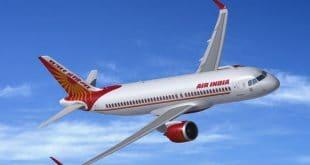 Airbus A320 neo von Air India