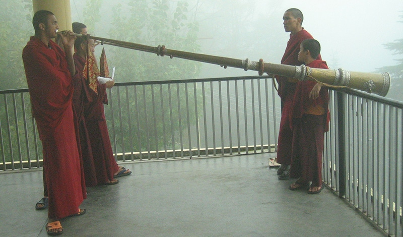 Dharamsala, Stadt der Tibeter. Foto: Ajay Tallam
