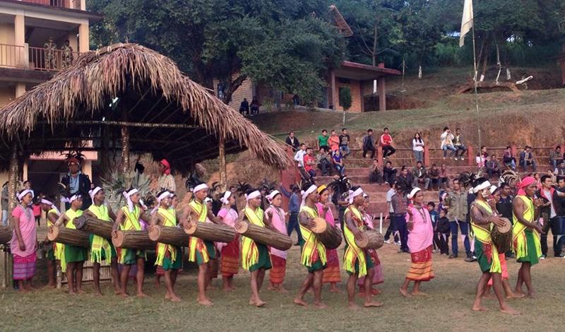 Wangala Festival Nordost Indien