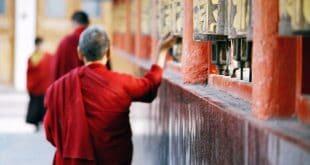 Buddhistische Gebetsräder