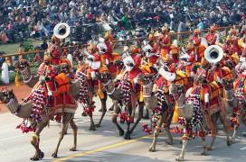 Parade zum Republic Day. Foto: Antonio Milena