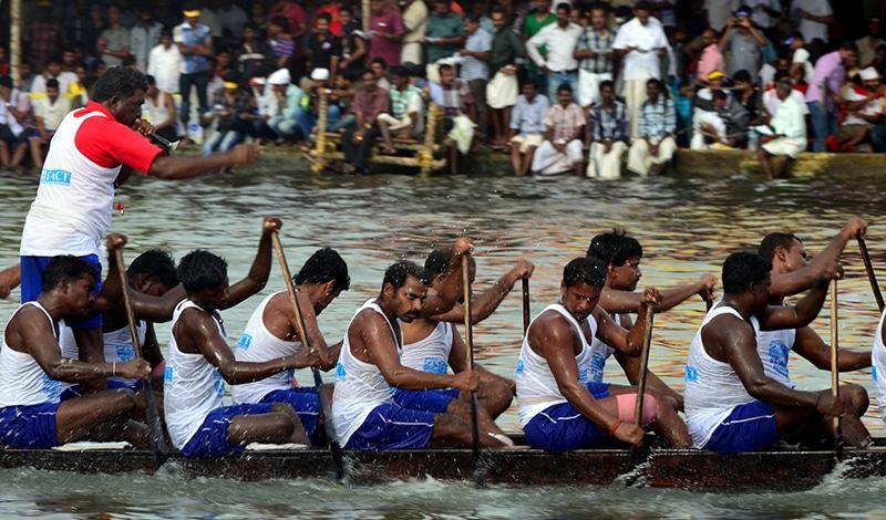 Festivals - Schlangenbootrennen Nehru Trophy