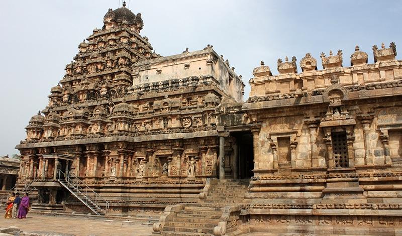 Airavateshvara Tempel. Foto: Arian Zweger