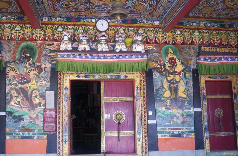 Rumtek Kloster in Sikkim. Foto: Chirantan Mandal