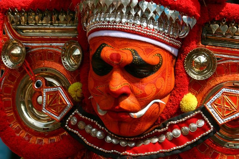 Theyyam-Maske