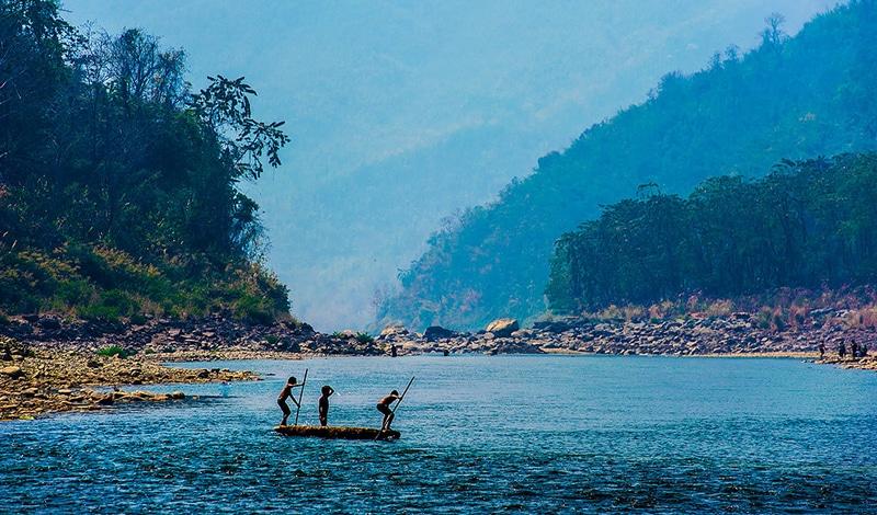 Tuipui-Fluss. Foto: Dan Markeye