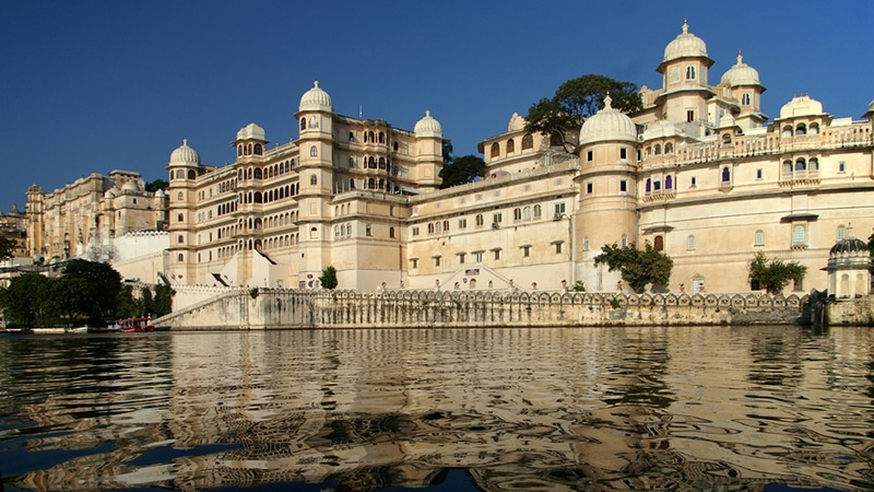 Der City Palace in Udaipur. Foto: Dave Morris